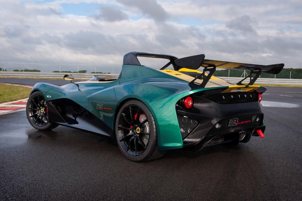Lotus desembarca el nuevo 3-Eleven el Goodwood: Radicalidad en su punto más álgido 2