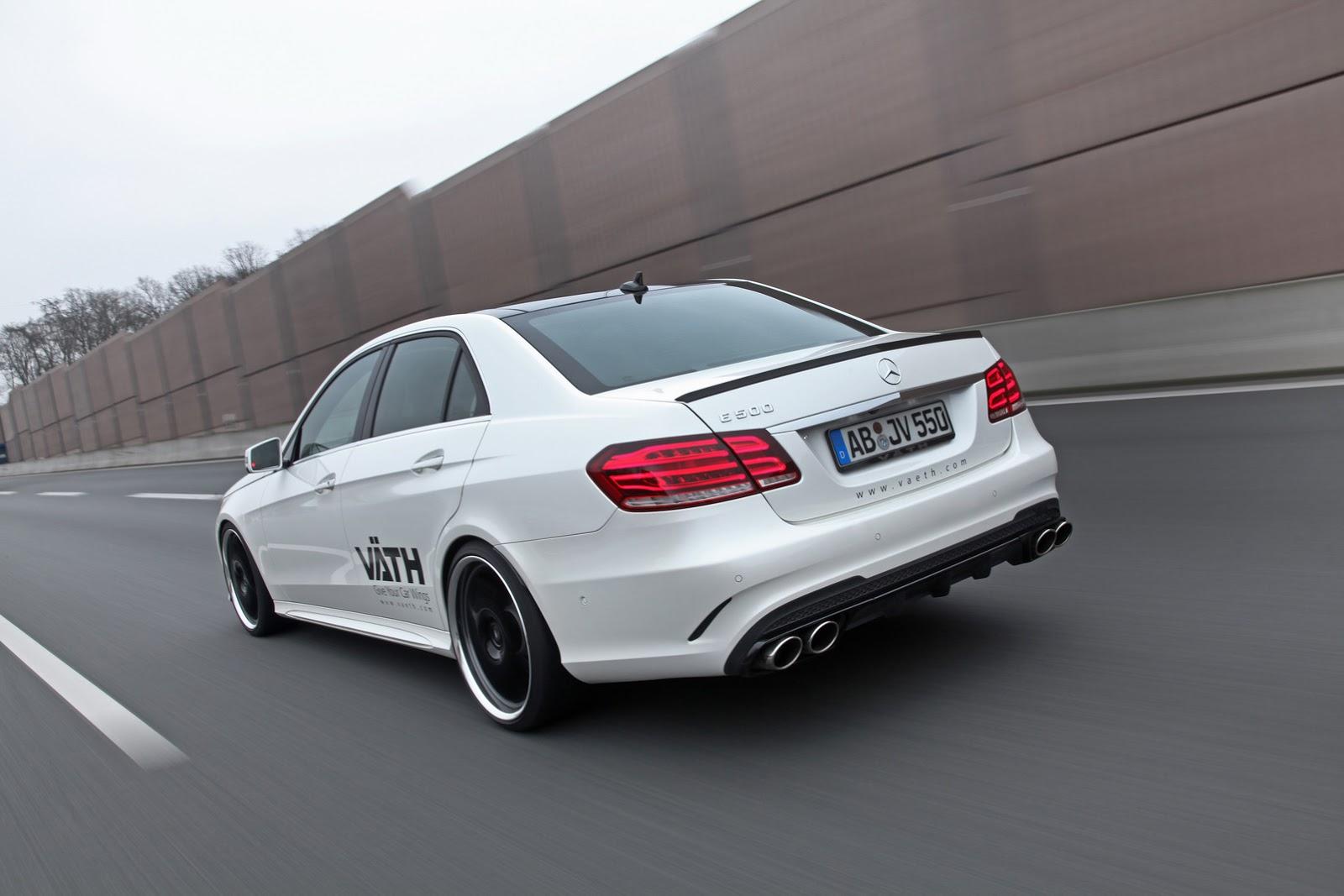 Mercedes-Benz E500 por VATH: Desde los 408 hasta los 550 CV 2