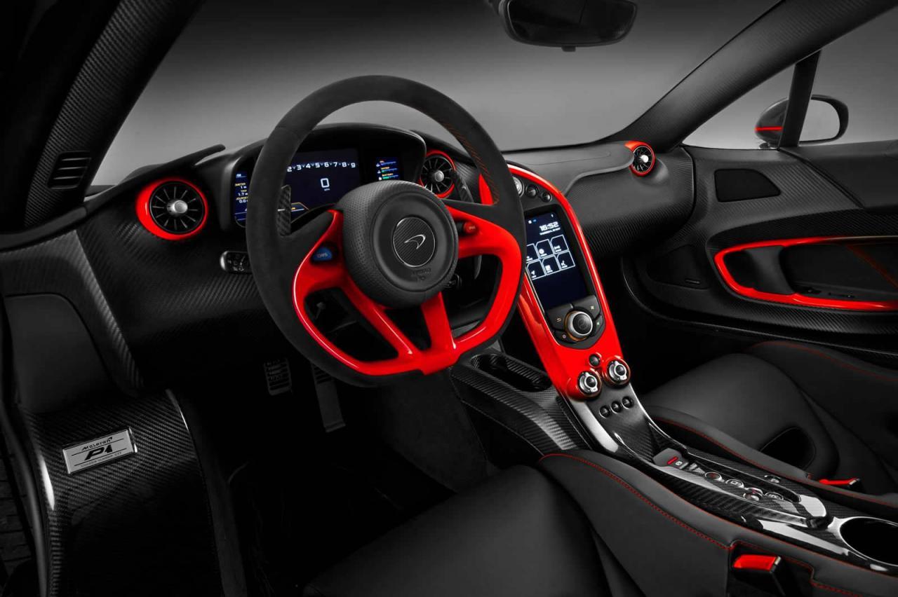 MSO presenta un nuevo McLaren P1 personalizado a gusto del cliente, 2