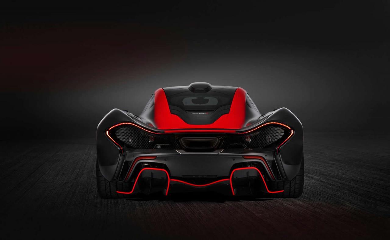 MSO presenta un nuevo McLaren P1 personalizado a gusto del cliente, 3