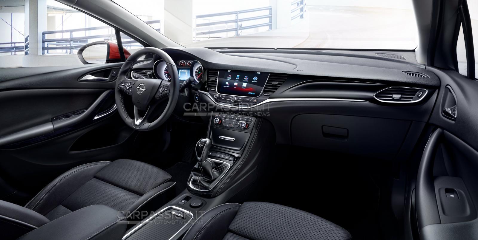Primeras imágenes filtradas del Opel Astra (K) 2016 1