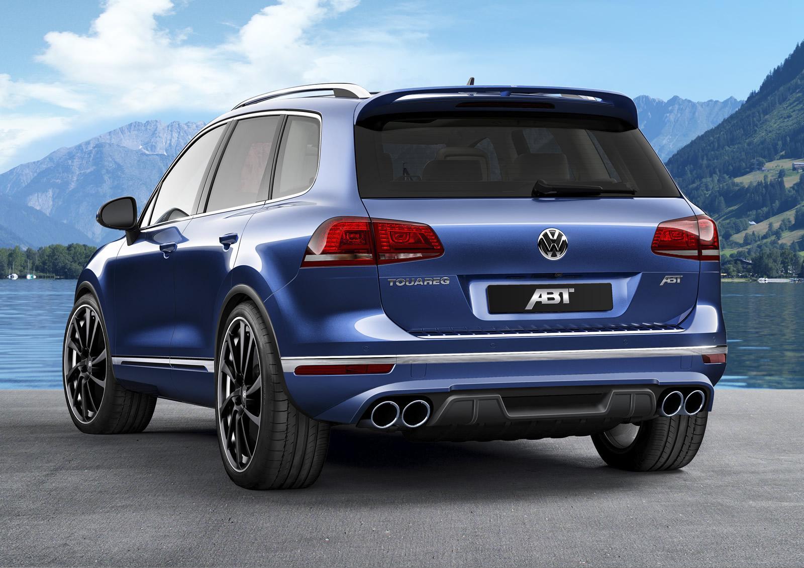 Volkswagen Touareg 3.0 TDI: ABT le inyecta el ciclo y sube hasta 290 CV 1