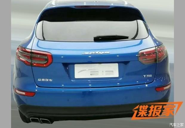 Zotye T700: La copia china del Porsche Macan, considerablemente más barato que este último 1