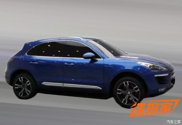 Zotye T700: La copia china del Porsche Macan, considerablemente más barato que este último 2