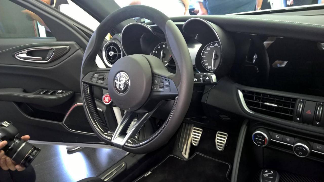 Así es el interior del Alfa Romeo Giulia QV 3