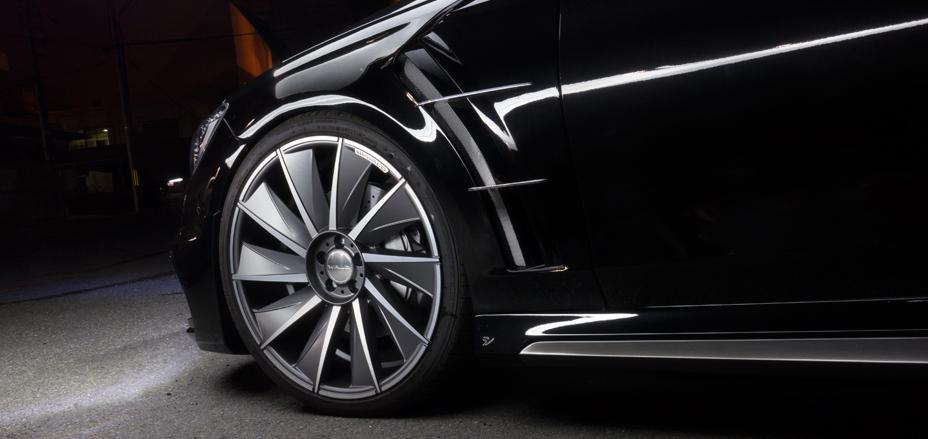 El Mercedes Clase S Coupé recibe el baño estético de Wald International 1