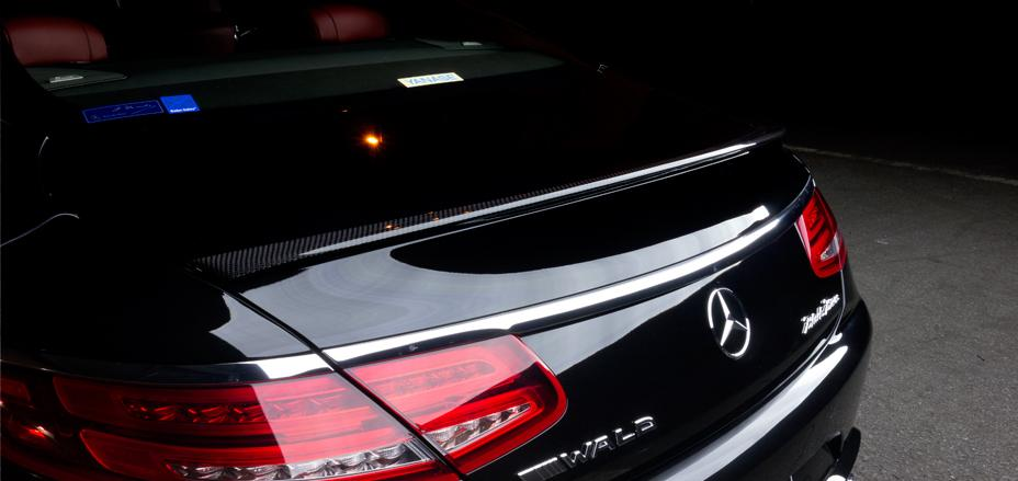 El Mercedes Clase S Coupé recibe el baño estético de Wald International 3