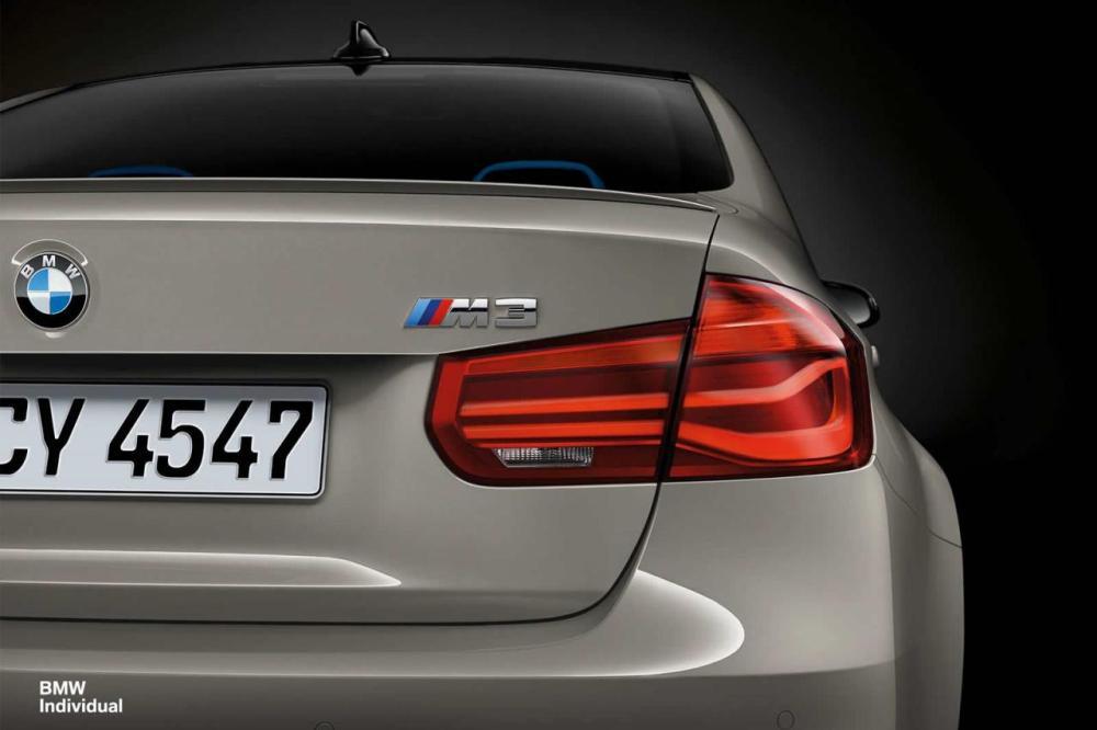 Este M3 de BMW Individual es discreto pero único: Mostrando las posibilidades de personalización 1