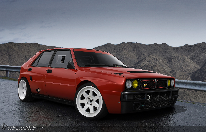 FCA apuesta por un nuevo Lancia Integrale como homenaje al adiós de la marca 2