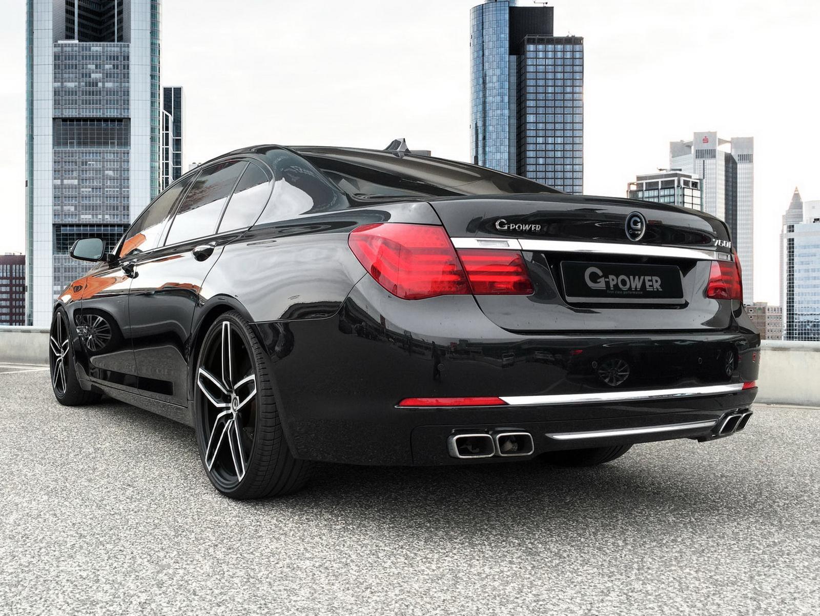 G-Power BMW 760i: 610 CV y 870 nm de par... o lo que es lo mismo, un M7 no oficial 2