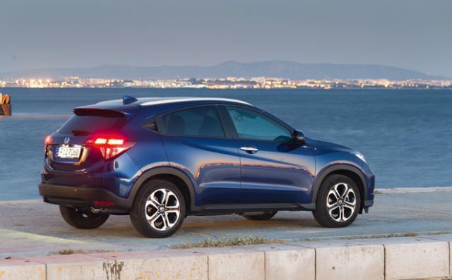 Honda HR-V 2015: Sólo dos motores, tracción 4x2 y un precio que arranca en los 21.200 euros 2