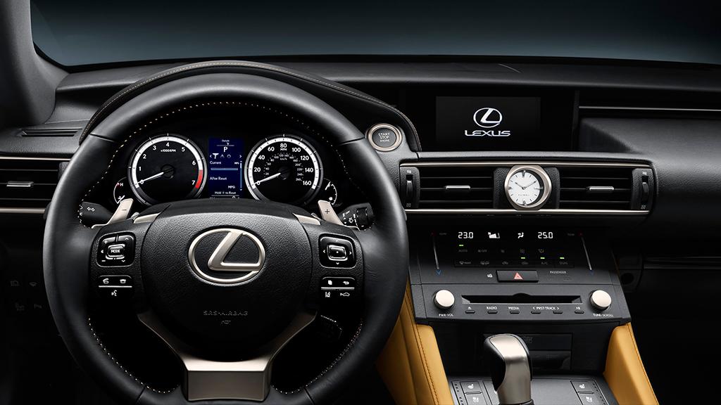 Lexus RC 300h: La alternativa ecológica al RC F 1