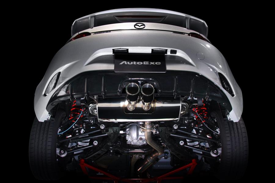 Llegan las primeras preparaciones: Nuevo Mazda MX-5 por Autoexe, aún más racing 2