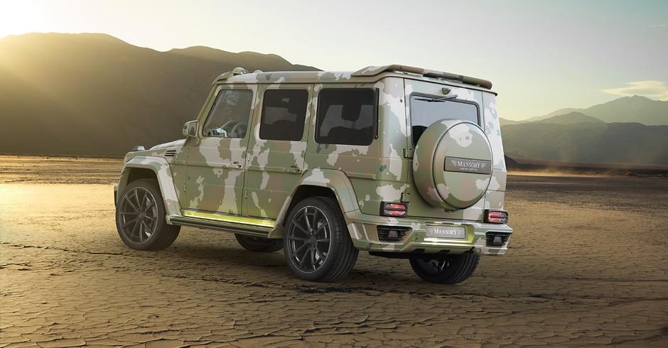 Mansory Mercedes-Benz G63 AMG Sahara Edition : El jueguete para millonarios por 770.000 euros 2