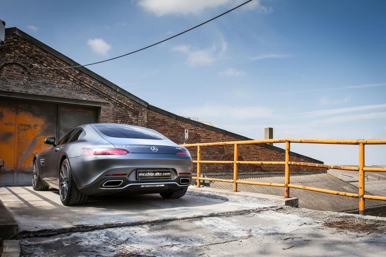 McChip-DKR sube a 590 CV la potencia del Mercedes-AMG GT 2