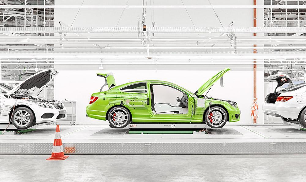 Mercedes C63 AMG Coupé Legacy Edition: Verde que te quiero verde 2