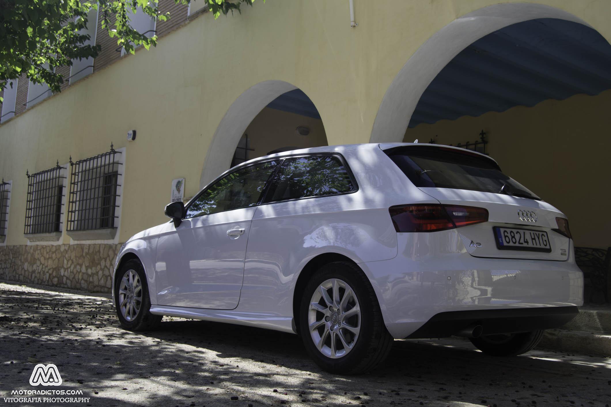 Prueba: Audi A3 1.6 TDI Ultra 110 CV (diseño, habitáculo, mecánica) 1