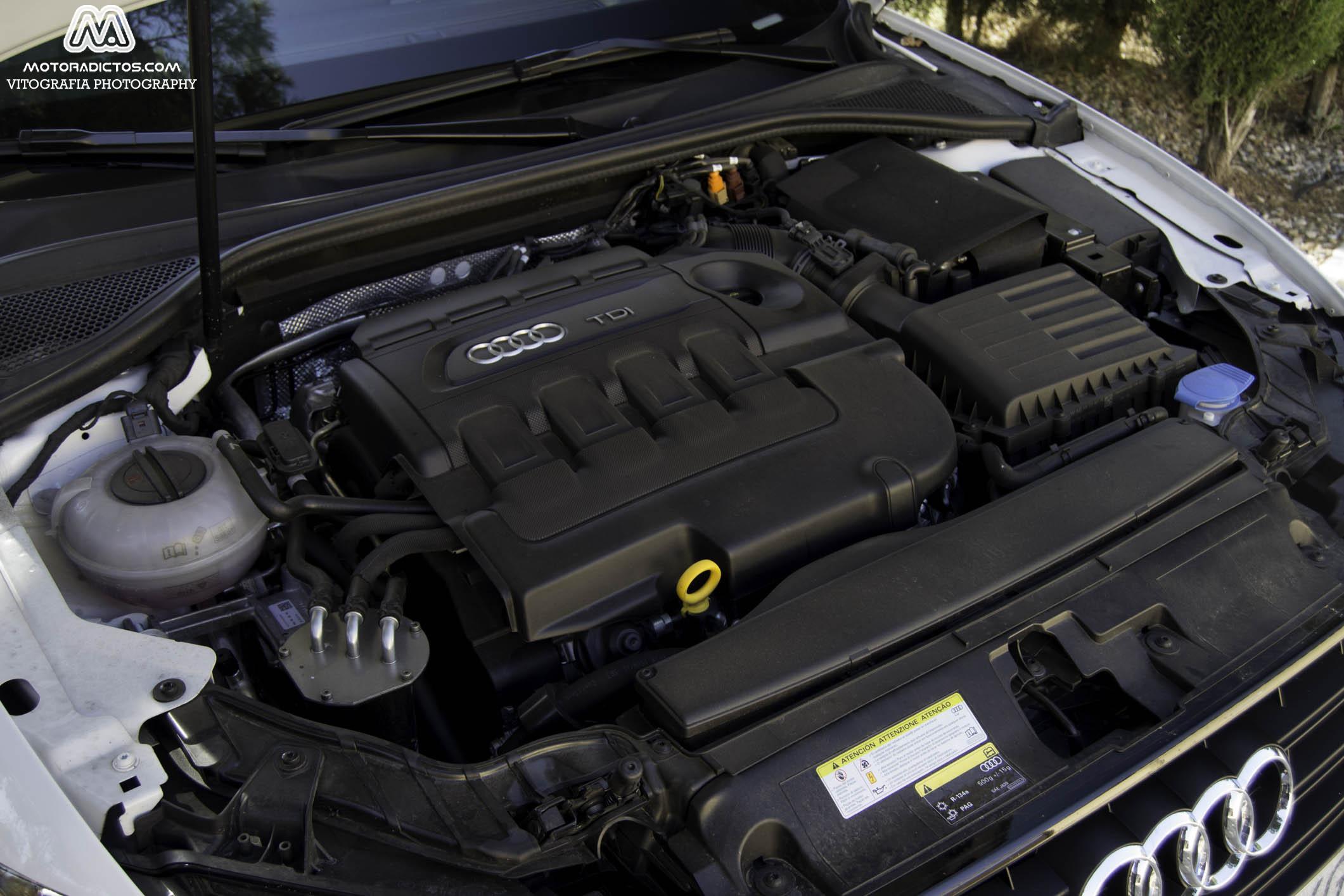 Prueba: Audi A3 1.6 TDI Ultra 110 CV (diseño, habitáculo, mecánica) 3