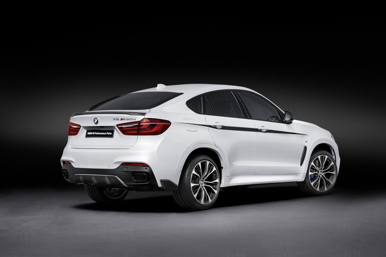 Tu BMW X6 puede dar mucho más de sí con los accesorios M Performance 1