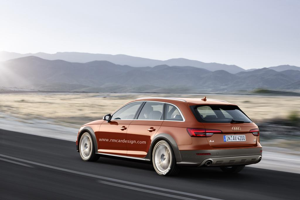 Un vistazo al próximo Audi A4 allroad 2