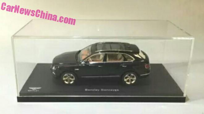So the Bentley Bentayga 1:18 scale production ... 3