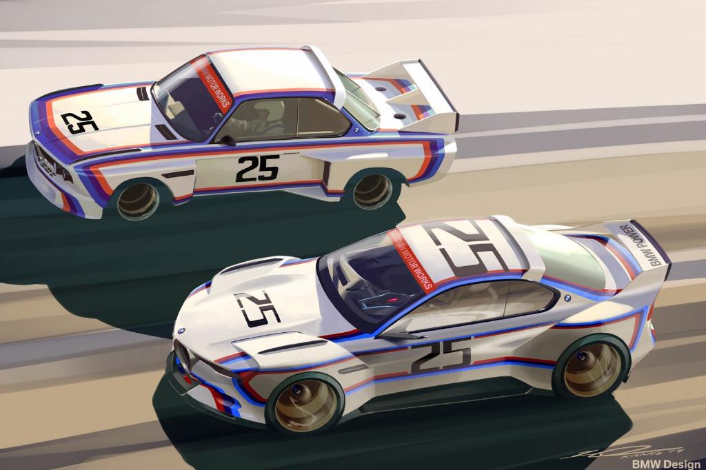 BMW 3.0 CSL Hommage R: Ahora, mejorado y con la vestimenta de guerra 2