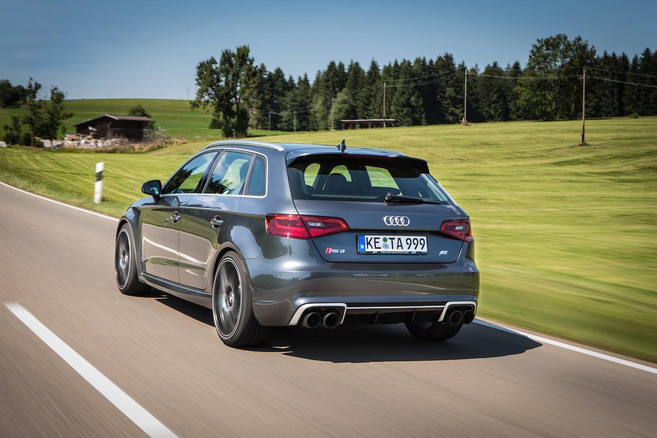 El Audi RS3 de ABT ahora cuenta con 430 CV: Por si no eran suficientes los 367 de serie... 2