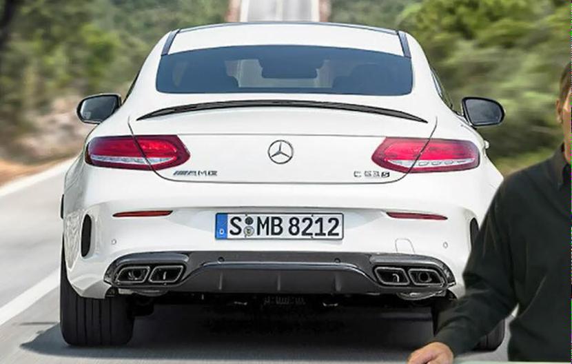 El Mercedes-AMG C63 S Coupé asoma la patita antes de hora en unas filtraciones 1