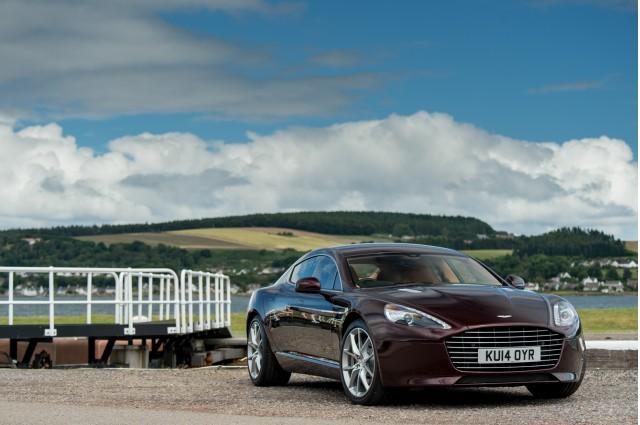 Habrá un Aston Martin Rapide eléctrico en un par de años 2