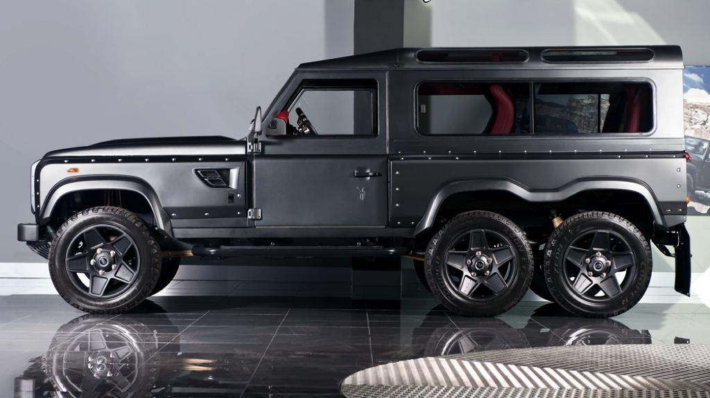 Land Rover Defender 6×6 con motor V8: ¿El Defender imbatible? 3