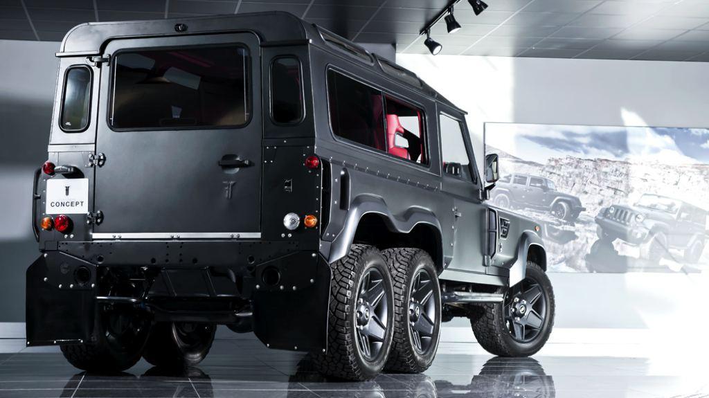Land Rover Defender 6×6 con motor V8: ¿El Defender imbatible? 4