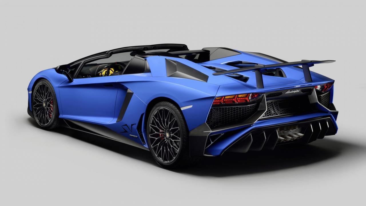 Oficial: Lamborghini Aventador SV Roadster 1