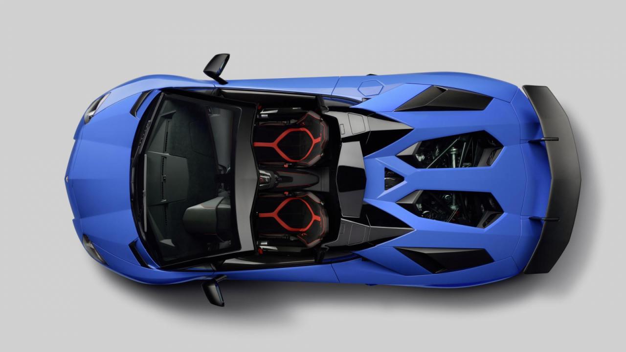 Oficial: Lamborghini Aventador SV Roadster 2