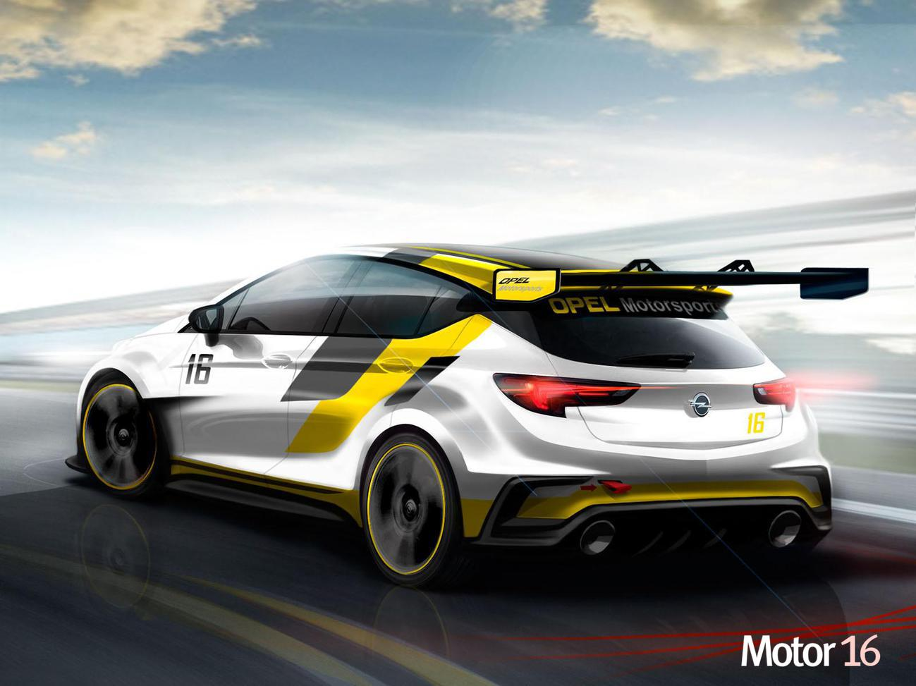 Opel Astra TCR: El Astra que dará guerra en los circuitos con 330 CV 2