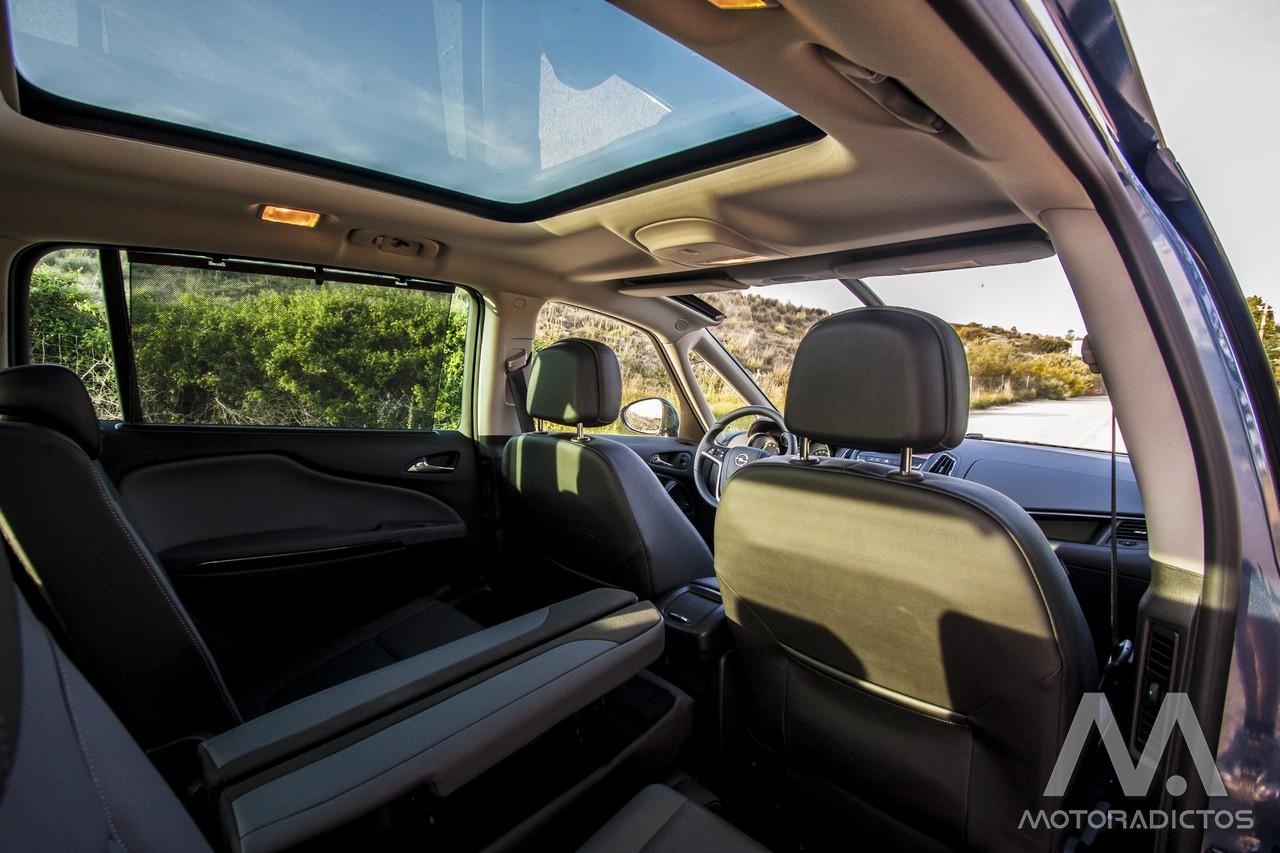 Prueba: Opel Zafira Tourer Turbo 200 CV (diseño, habitáculo, mecánica) 4