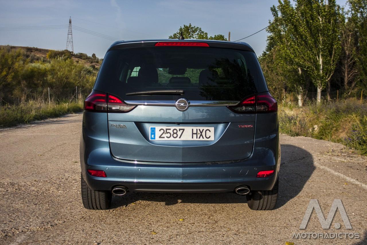 Prueba: Opel Zafira Tourer Turbo 200 CV (diseño, habitáculo, mecánica) 6