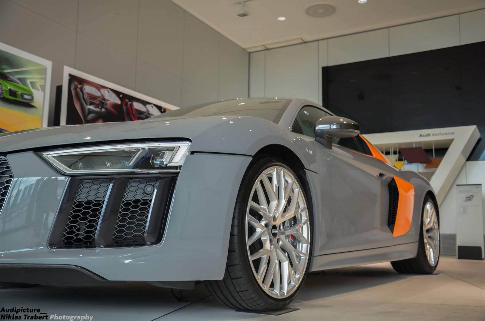 ¿Qué te parece este Audi R8 V10 Plus bitono de Audi Exclusive? 1