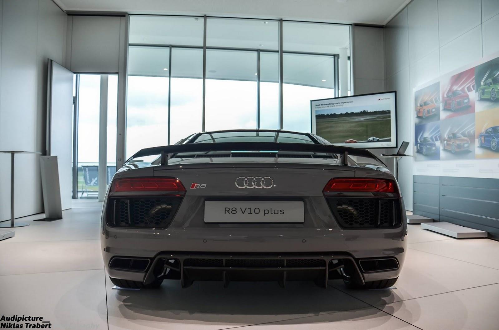 ¿Qué te parece este Audi R8 V10 Plus bitono de Audi Exclusive? 2