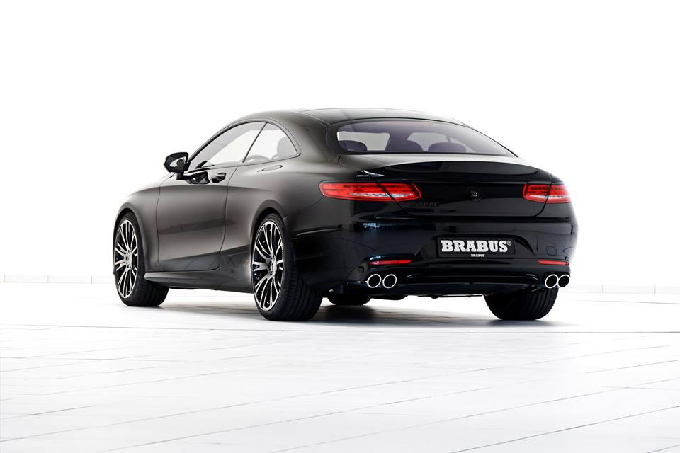 Vestido de negro: Brabus Mercedes S500 Coupé, una majestuosidad de 178.890 euros 2