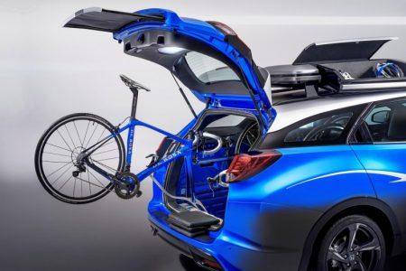 Honda Civic Tourer Active Life: Con la bicicleta a cuestas