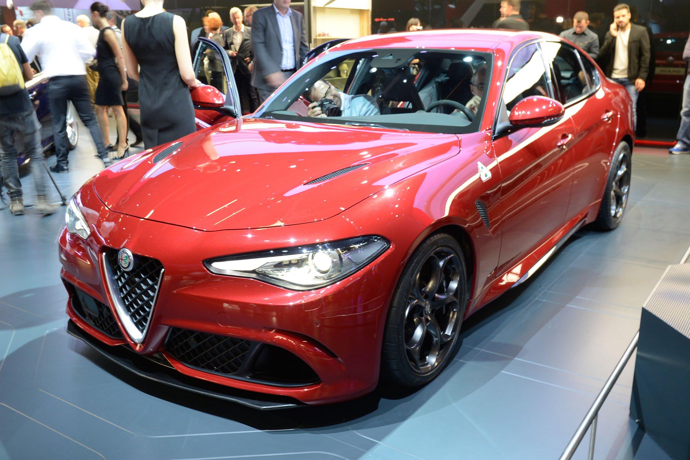 Al natural: Alfa Romeo Giulia Quadrifoglio, desde Fráncfort