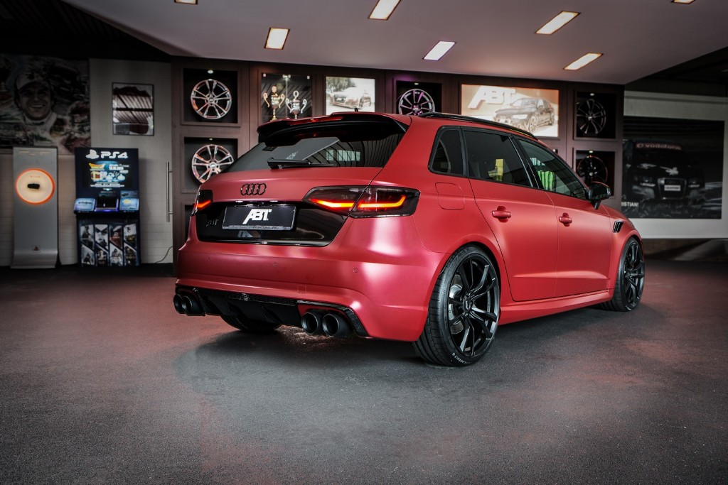 ABT vuelve a traernos el Audi RS3 Sportback con 450 CV 1