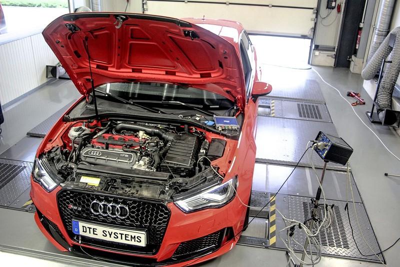 DTE le saca 410 CV y 557 Nm de par al Audi RS3: ¡Menuda bestia! 1