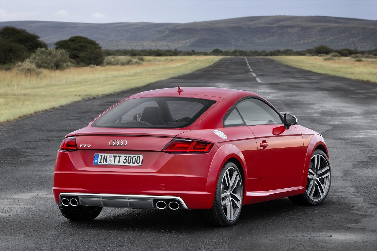 El Audi TT RS superará los 400 caballos de potencia 1