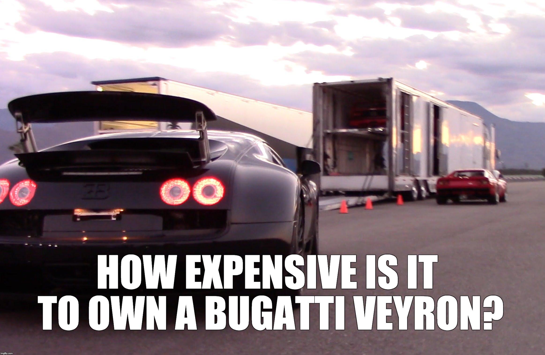 Mantener un Bugatti Veyron Super Sport es mucho más caro de lo que on