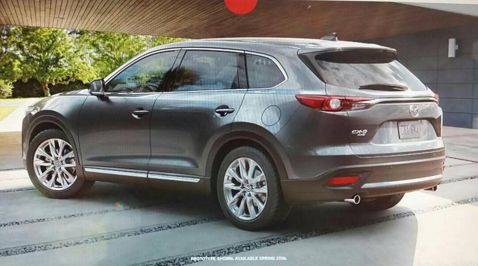 Mazda CX-9 2016: Aparición antes de hora 3