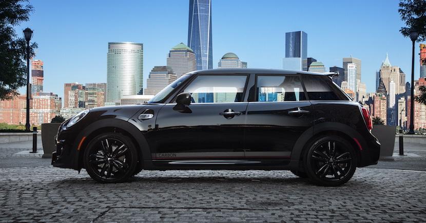 MINI Cooper S Carbon Edition: En cinco puertas y con 210 CV, sólo para EEUU 1