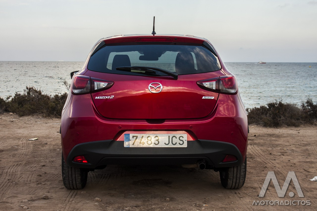 Prueba: Mazda 2 SkyActiv-G 75 CV Style+ (diseño, habitáculo, mecánica) 3