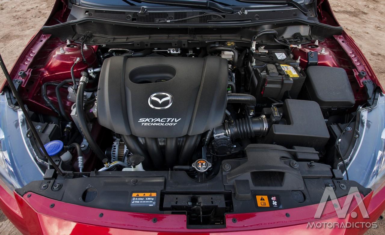 Prueba: Mazda 2 SkyActiv-G 75 CV Style+ (diseño, habitáculo, mecánica) 5