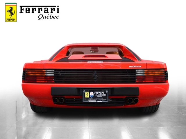 ¿Quieres un Ferrari Testarrosa con 276 kilómetros? Aquí puedes hacerte con uno... 2